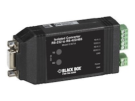 Black Box RS-232 to RS-422 485 Converter with Opto-Isolation, IC821A, 32469268, Adapters & Port Converters