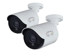 Night Owl 1080p HD Security Bullet Camera, White, 2-Pack, CAM-2PK-HDA10W-BU, 32191631, Cameras - Security