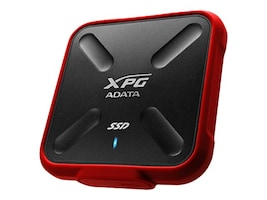 A-Data 256GB SD700X USB 3.1 Gen 1 External Solid State Drive - Red (Retail), ASD700X-256GU3-CRD, 34037127, Solid State Drives - External