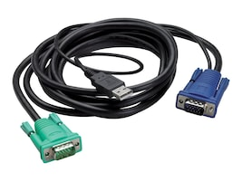 APC Integrated LCD-KVM USB Cable, 12ft, AP5822, 11515296, Cables