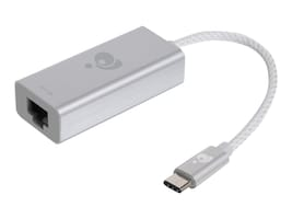 IOGEAR USB 3.1 Type-C to Gigabit Ethernet Adapter, Gray, GUC3C01, 30005689, Adapters & Port Converters
