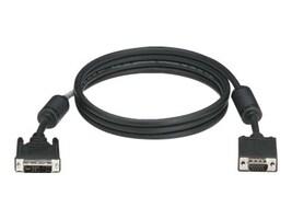 Black Box DVI to VGA Cable, Black, 25ft, EVNDVI01-0025, 13234316, Cables