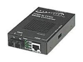 Transition 100BaseTX to 100BaseFX Standalone Media Converter LC, E-100BTX-FX-05(SMLC), 272806, Network Transceivers