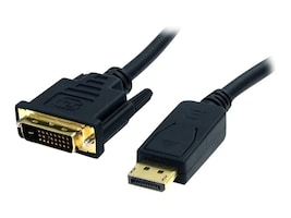 StarTech.com DisplayPort to DVI-D Cable (M-M), 6ft, DP2DVI2MM6, 11737251, Cables