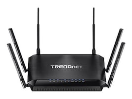 TRENDnet AC3200 Tri-Band Wireless Router, TEW-828DRU, 18481682, Wireless Routers