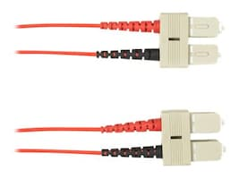 Black Box OM4 MM FO PATCH CABLE DUPLX, P Main Image from Front