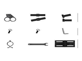 Samsung Accessory Kit w out Base Stand for 400UXN-M, 400UXN-UD, MID4046K, 10123792, Monitor & Display Accessories