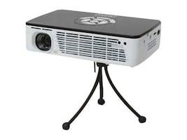 Aaxa P300 WXGA HD DLP Pico Projector, 400 Lumens, White Black, KP600-01, 14893487, Projectors