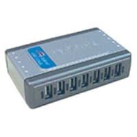 D-Link QuickMedia Hi-Speed USB 2.0 7-Port Hub, DUB-H7, 437945, USB & Firewire Hubs