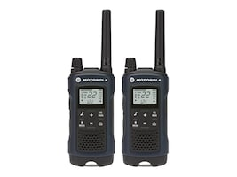 Motorola T460 Rechargeable 2-Way Radios - Dark Blue (2-pack), T4B32201LERAAV, 23836636, Two-Way Radios