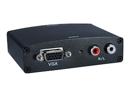 QVS VGA Video Stereo Audio to HDMI Digital Converter, HVGA-AS, 31203724, Scan Converters