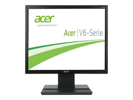 Acer 18.5 V196HQL AB LED-LCD Monitor, Black, UM.XV6AA.A01, 15482938, Monitors