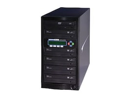 Kanguru™ 1 to 5 24x KanguruDVD Burn Proof Duplicator w  LCD, U2-DVDDUPE-S5, 9385998, Disc Duplicators