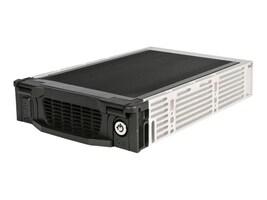 StarTech.com Black Aluminum 5.25in Professional SATA Hard Drive Mobile Rack Drawer, DRW115SATBK, 467434, Hard Drive Enclosures - Single