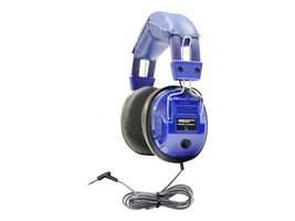 Hamilton Kids Deluxe Stereo Headset w  3.5mm Plug & Volume Control - Blue, KIDS-SC7V, 8811887, Headphones