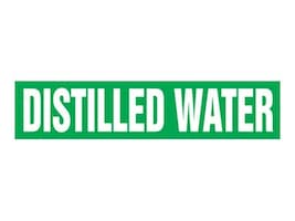 Panduit Self Stick Pipe Marker, Distilled Water, Green, Size B, PPMA1167B, 36045315, Tools & Hardware