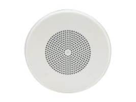 Valcom 4-Inch One-Way Ceiling Speaker - White, V-1010C, 16450268, Speakers - Audio