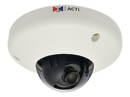 Acti 3MP Indoor Mini Dome with Fixed Lens, D92, 19911656, Cameras - Security