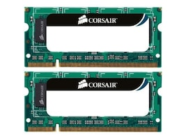 Corsair 8GB PC3-10600 204-pin DDR3 SDRAM SODIMM Kit, CMSO8GX3M2A1333C9, 10826922, Memory
