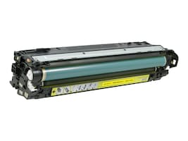 V7 CE742A Yellow Toner Cartridge for Hp Color LaserJet CP5520, V75220Y, 17341400, Toner and Imaging Components