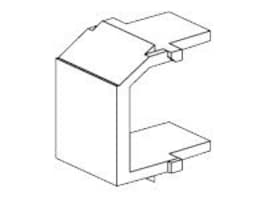 Panduit Blank Keystone Module, Off White, NKBMIW-X, 34299901, Premise Wiring Equipment