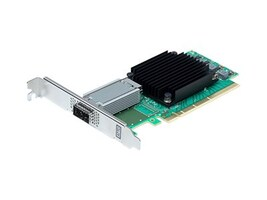 Atto FastFrame N351 1-Port 25 40 50GbE QSFP28 PCIe 3.0 NIC, FFRM-N351-DA0, 35155011, Network Adapters & NICs