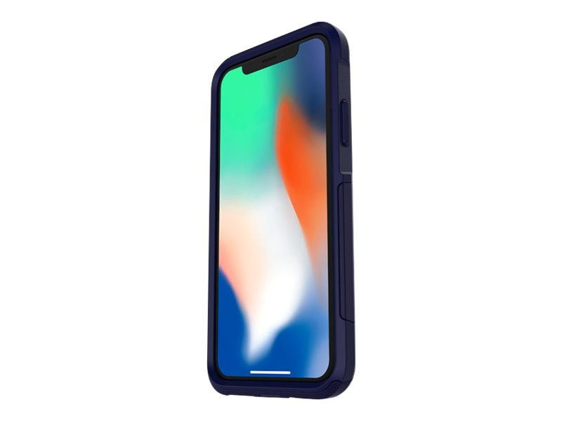 new concept 0dab2 ad68b OtterBox Commuter Series Case for iPhone X, Indigo