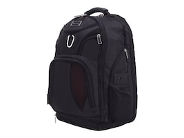 Eco Style ECO STYLE JET SET BACKPACK CKPTCASEFRND FITS UP TO 16IN LAPTOP, EJSS-BP16-CF-SCE, 36445757, Carrying Cases - Other