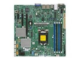 Supermicro Motherboard, X11SSL-CF microATX C232 LGA 1151 E3-1200 v5 Family Max.64GB DDR4 6xSATA 8xSAS 2xGbE, MBD-X11SSL-CF-O, 31810196, Motherboards