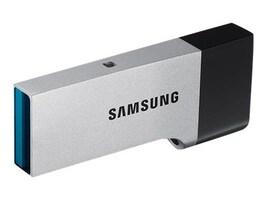 Samsung 64GB USB 3.0 Duo Drive OTG Flash Drive, MUF-64CB/AM, 30855931, Flash Drives