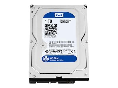 WD 1TB WD Caviar Blue SATA 6Gb s 3.5 Internal Hard Drive - 64MB Cache, WD10EZEX, 36859378, Hard Drives - Internal