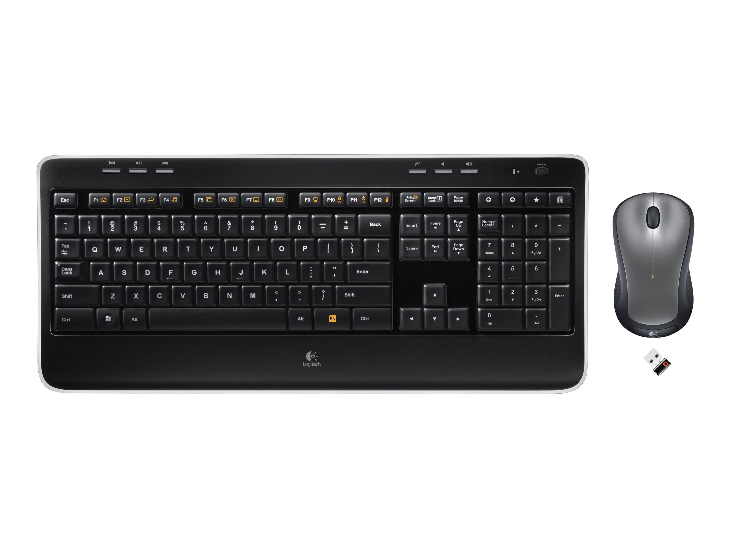 Logitech Wireless Combo MK520, 920-002553, 11711836, Keyboard/Mouse Combinations