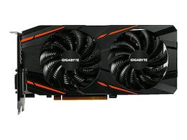 Gigabyte Tech Radeon RX 580 PCIe Graphics Card, 4GB GDDR5, GV-RX580GAMING-4GD, 33950678, Graphics/Video Accelerators