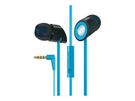 Creative Labs Hitz MA350 Noise-Isolation Headset with Microphone for Smartphones, Blue, 51EF0610AA010, 15983353, Headsets (w/ microphone)