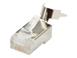 Black Box CAT6A RJ-45 Shielded Modular Plug, 25-Pack, FMTP6AS-25PAK, 35758516, Cable Accessories