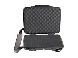 Pelican 1075 Hardback Case with Foam, for iPad, iPad2, Netbooks, Black, 1070-000-110, 13258220, Carrying Cases - Tablets & eReaders