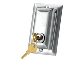Da-Lite Key Locking Coverplate for 115V Switch or LVC, 40962, 6367567, Premise Wiring Equipment