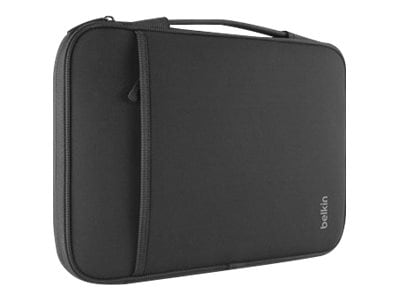 Belkin 14 Sleeve for Chromebook, Ultrabook, Macbook Air, Black, B2B075-C00, 16275607, Carrying Cases - Notebook