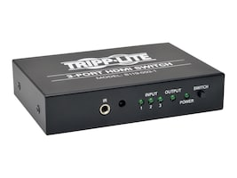 Tripp Lite 3-Port High Speed HDMI Switch for Video and Audio with Remote, B119-003-1, 16909438, Switch Boxes - AV