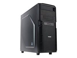 Zalman Chassis, Z1 Mid ATX 4x3.5 Bays 2x5.25 Bays USB 3.0, Black, Z1, 17044270, Cases - Systems/Servers