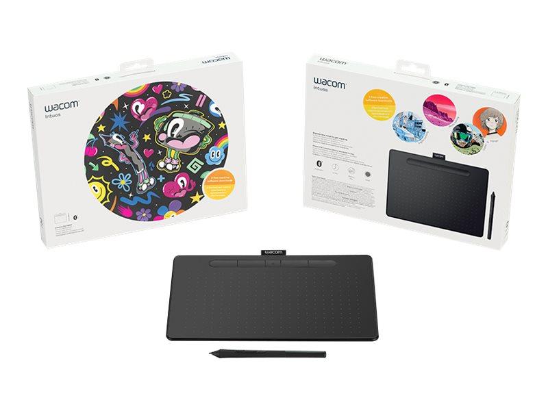 Wacom Medium Bluetooth Creative Pen Tablet, Black