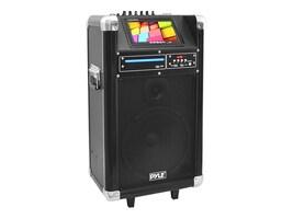 Pyle Karaoke Vibe BT PA System w  10 Woofer, DVD, VHF & Wireless Mic - 400W, PKRK10, 33976747, Speakers - Audio