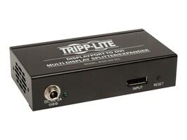 Tripp Lite 2-Port DisplayPort to DVI Splitter, Multi-display Adapter, TAA, GSA, B156-002-DVI, 15473302, Video Extenders & Splitters