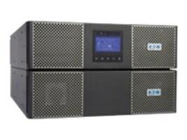 Eaton 9PX 6kVA 5.4kW 208V Online 6U R T UPS L6-30P Input 6ft Cord 5kVA Transformer (22) Outlets, 9PX6KTF5, 14994149, Battery Backup/UPS