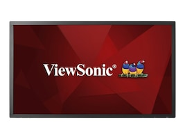 ViewSonic 43 CDM4300T Full HD LED-LCD Display, Black, CDM4300T, 34304230, Monitors - Large Format - Touchscreen