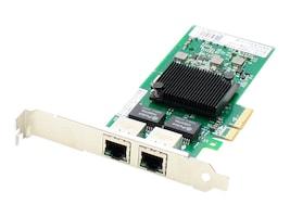 AddOn 10 100 1000Mbs Dual Open RJ-45 Port 100m PCIe x4 NIC, ADD-PCIE-2RJ45, 23203476, Network Adapters & NICs