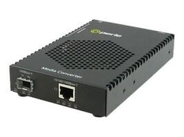 Perle S-1110PP-SFP-XT 1000Base-T 100Base-X PoE+ SFP Media Converter, 05090660, 35662629, Network Transceivers