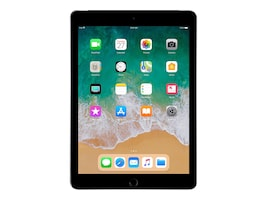 Apple iPad 9.7 128GB, Wi-Fi + Cellular, Space Gray, MR7C2LL/A, 35365536, Tablets - iPad