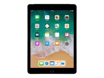 Apple iPad 9.7 32GB, Wi-Fi + Cellular, Space Gray, MR6Y2LL/A, 35365448, Tablets - iPad