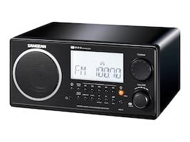 Sangean Digital AM FM Table Top Radio, Black, WR-2 BLACK, 10036761, Clock Radios